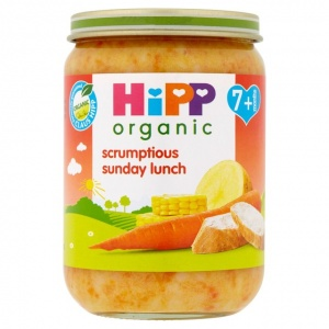 Hipp 7 Month Organic Scrumptious Sunday Lunch 190g Jar