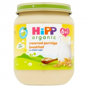 Hipp 6 Month Organic Creamed Porridge Breakfast 125g Jar
