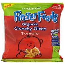 Organix 7 Month Goodies Crunchy Tomato Slices 20g bag
