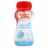 Cow & Gate for Hungrier Babies Ready To Feed Milk 200ml