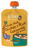 Ella's Kitchen Stage 2 Organic Chicken & Rice Casserole with Apricots 130g