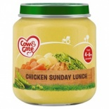 Cow & Gate 4  Month+ Chicken Sunday Lunch 125g Jar