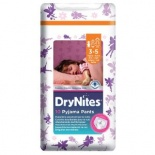 Huggies Dry Nites Pyjama Pants x 10 Girl (3-5 Yrs)