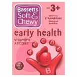 Bassetts Early Health Soft And Chewy Vitamins 45's - Strawberry