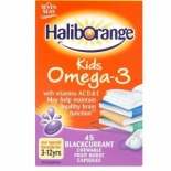 Haliborange Omega 3 Blackcurrant Chews 45 per pack