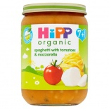 Hipp 7 Month Organic Spaghetti With Tomatoes & Mozzarella 190g Jar
