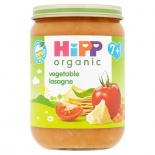 Hipp 7 Month Organic Vegetable Lasagne 190g Jar