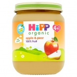 Hipp 4 Month Organic Apple & Pear Pudding 125g Jar