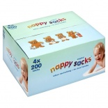 Poly-Lina Nappy Sacks 4 x 200 Packs