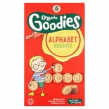 Organix 12 Month Alphabet Biscuits 5 x 25g