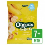 Organix 7 Month Rice Cakes - Banana 50g