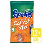Organix 12 Month Goodies Carrot Stix 15g x 4 pack