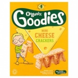 Organix 12 Month Mini Cheese Crackers 80g