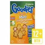 Organix 12 Month Mini Gingerbread Men 5 x 25g