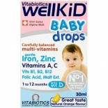 Vitabiotics Well Baby Mutivitamin Drops 30ml